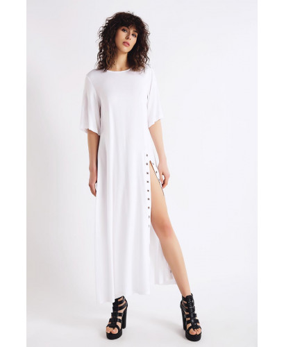 The White Atmospheric Dress