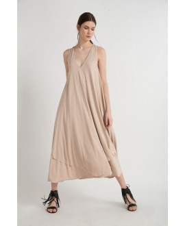 The Beige Lightweight Dress