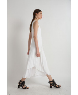 The White Lightweight Dress