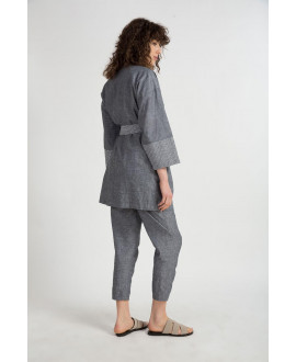 The Grey Purity Cardigan