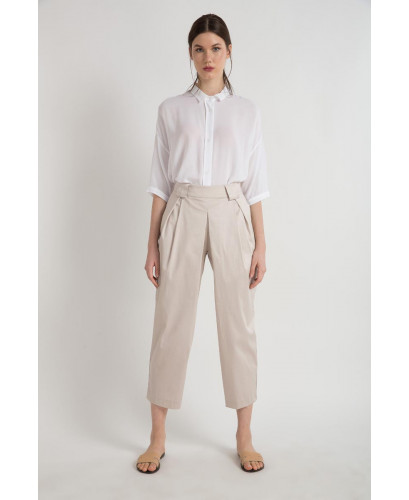 The Beige Graceful Pants