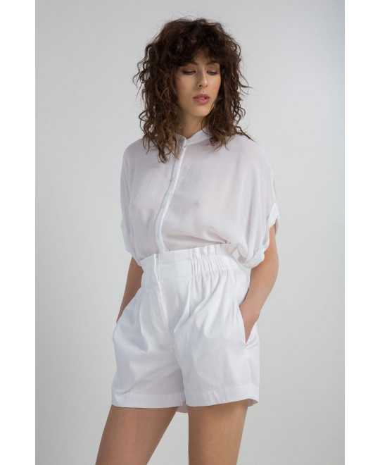 The White Melia Shirt