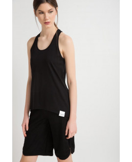 The Black Oddball Tank Top