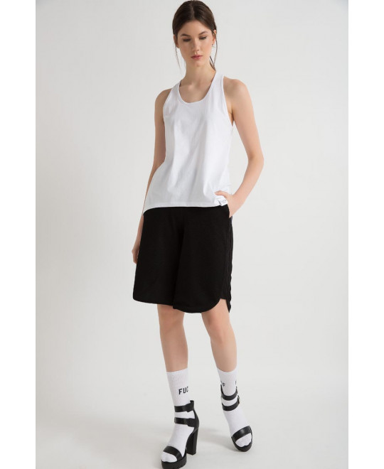 The White Oddball Tank Top