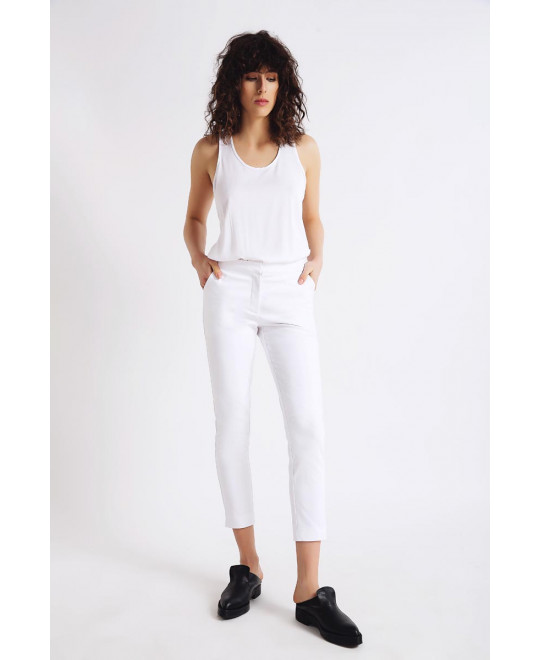The White Prima Donna Pants