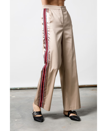 The Beige Chic Race Pants