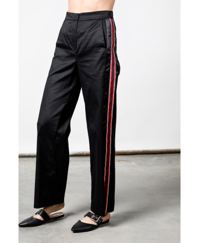The Black Chic Race Pants