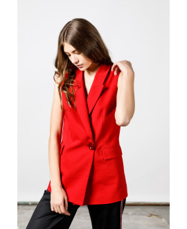 The Red Entrepreneur Vest
