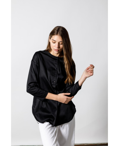 Τhe Black Monk Shirt