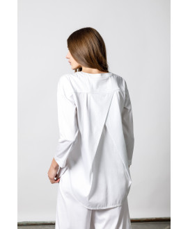 Τhe White Monk Shirt