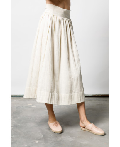 The Beige Gypsy Skirt