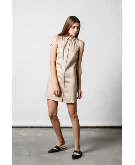 The Beige Excursion Dress