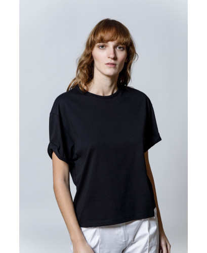 The Easy T-shirt-BLACK