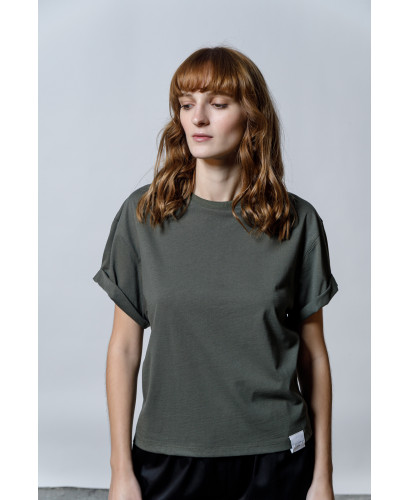 The Easy T-shirt-KHAKI