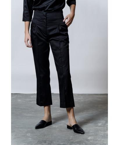 The Glossy Pants-BLACK