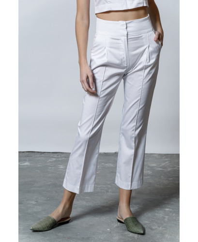The Glossy Pants-WHITE