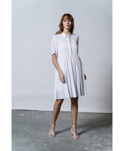 The MatchPoint Dress-WHITE
