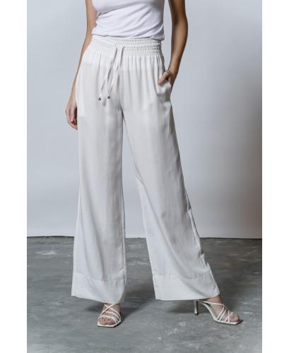 The Passepartout Pants-WHITE