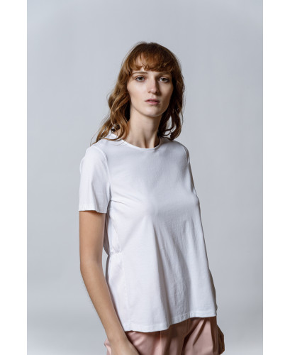 The Frilly Top-WHITE