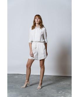The Geometry Shirt-WHITE