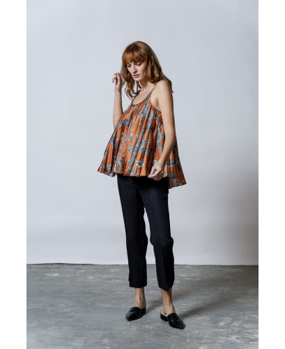 The Paisley Top-ALLOVER PRINT