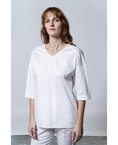 The Bond Shirt-WHITE