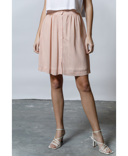The Flirty Skirt-ALLOVER ROSE