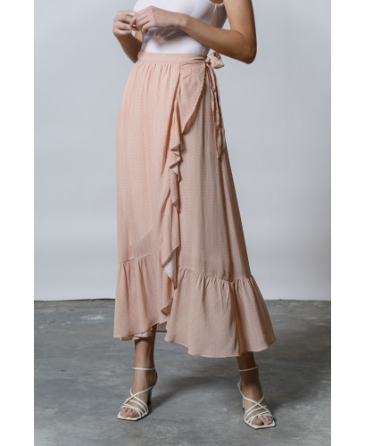 The Hyper Maxi Skirt-ALLOVER ROSE