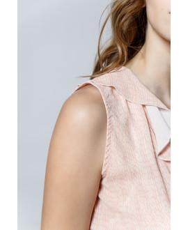 The Flirty Shirt-ALLOVER ROSE