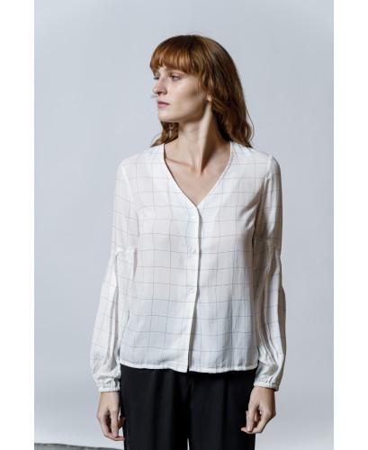 The Square Shirt-WHITE
