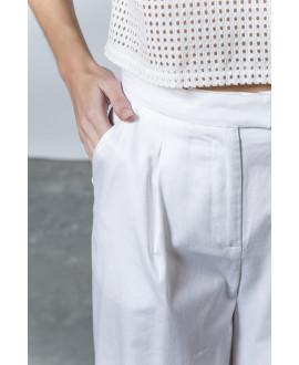 The Splash Pants-WHITE