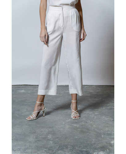 The Chic Pants-WHITE