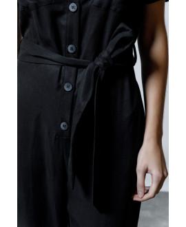 The Pleaser Jumpsuit-BLACK