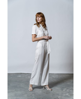 The Pleaser Jumpsuit-WHITE