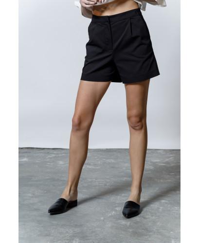 The Leisure Shorts-BLACK