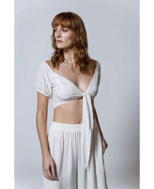 The Geometry Top-WHITE