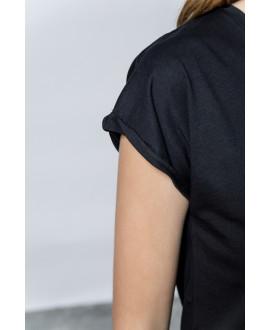 The Logo T-shirt-BLACK