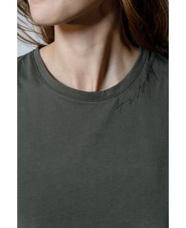 The Logo T-shirt-KHAKI