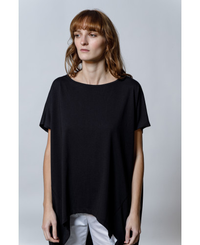 The Comfy T-shirt-BLACK