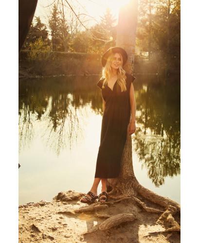 The Carefree Dress-BLACK