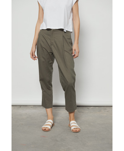 The Drop Pants-KHAKI