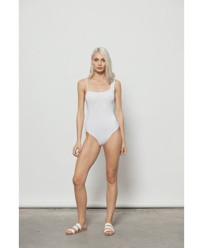 The Splash Bodysuit-WHITE