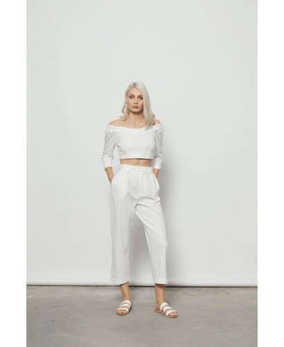 The Cool Pants-WHITE