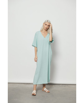 The Ripples Dress-MINT
