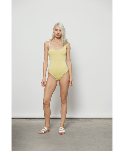 The Splash Bodysuit-YELLOW