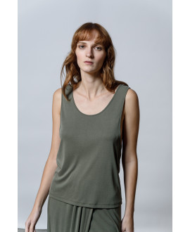The Workout Top-KHAKI