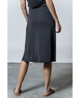 The Flow Skirt-BLACK