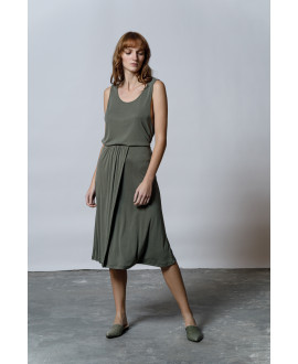 The Flow Skirt-KHAKI