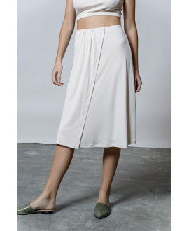 The Flow Skirt-ECRU