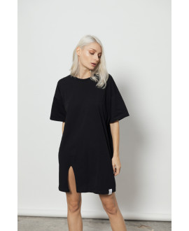 The Swimmer Dress-BLACK